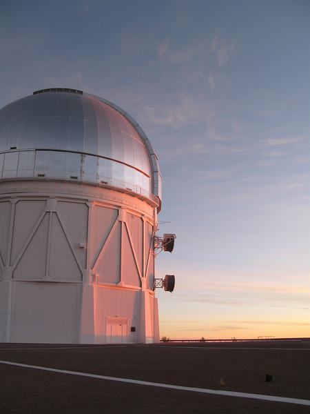 The 4m telescope at CTIO
