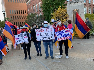 Belleville Rally for Artsakh (Oct. 30, 2020)