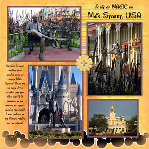 Disney Scrapbook Sept2009 trip