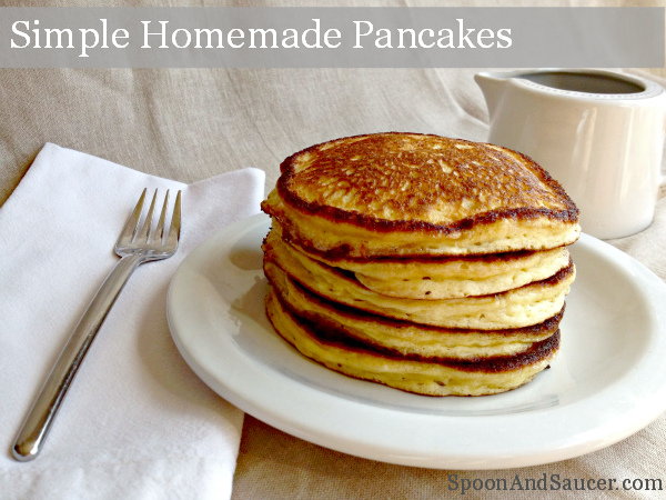How to Make Simple Homemade Buttermilk Pancakes