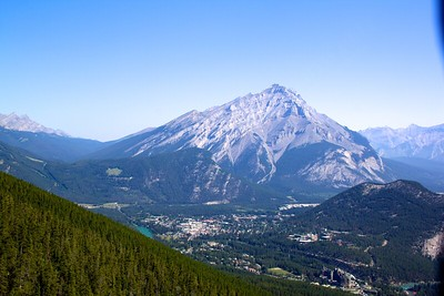 Banff and Sulphur Mountain