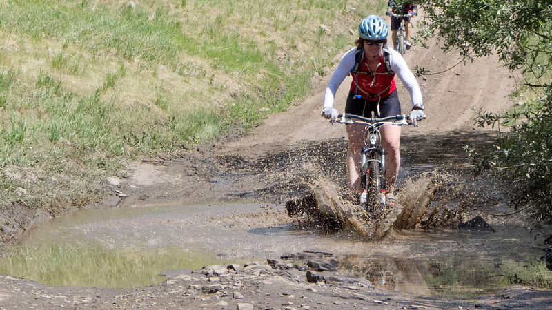 Mud puddles Still fun after all these years.