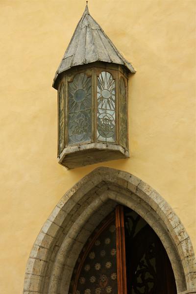Portal of the 15th-century Great Guild Hall -Tallinn, Estonia