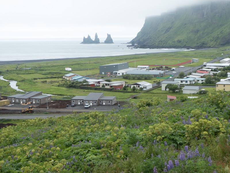 Vik, on South Coast, Iceland