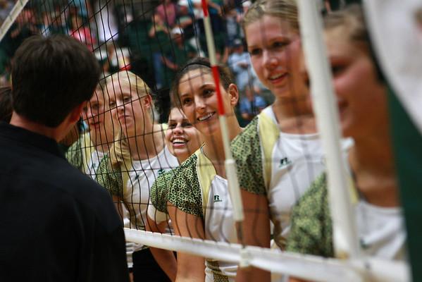 CSU vs. Denver Volleyball 2012