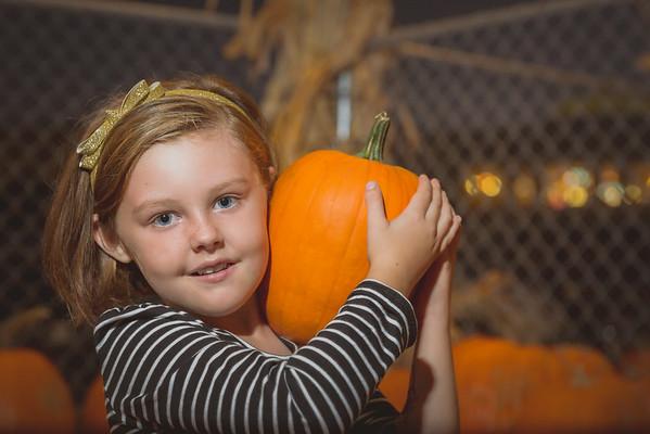 Tessa Pumpkin Patch 2015
