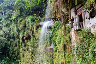Yinhe Cave Waterfall