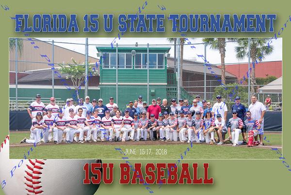 FLORIDA 15U State Tournament - June 15-17, 2018