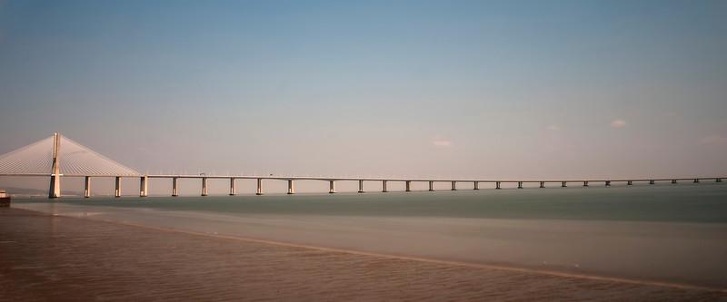 Lisbon, Vasco da Gama Bridge, September 2011