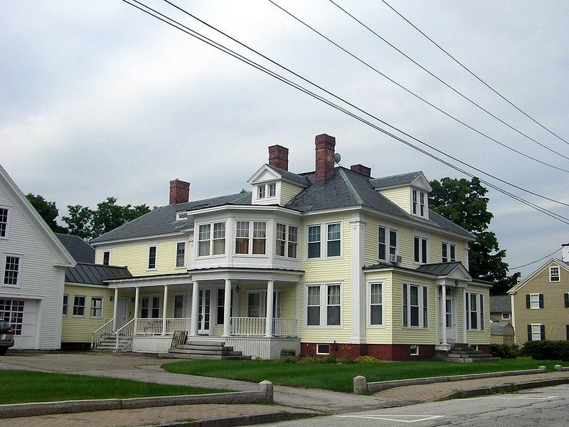 This was a big old well-kept New England home.