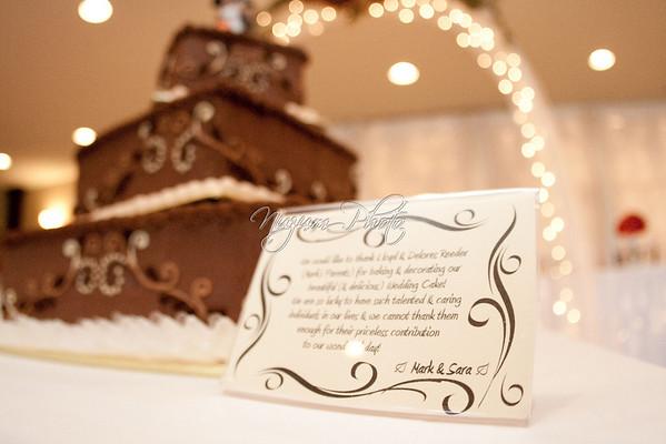 Cake Cutting - Sara and Mark