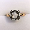 .53ctw Rose Cut Halo Ring, by Single Stone 5