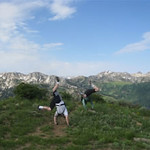 Shane Mather & Mike Diamond - Wasatch Crest bike trail, Utah