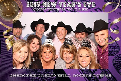 Will Rogers Downs NYE