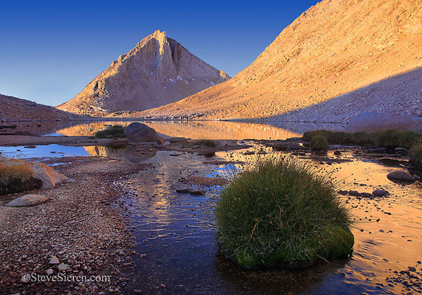 Peak Toussock John Muir Wilderness - Eastern Sierra Nevada Range