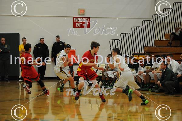 Batavia High School Boys Basketball at Waubonsie Valley High School in Aurora, Ill 12-13-13