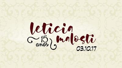Leticia Malosti 15 Anos 03-11-17