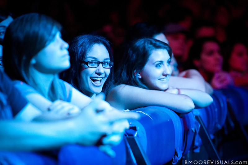 Fans enjoy themselves as Cara Salimando performs on March 26, 2010 at House of Blues in Orlando, Florida