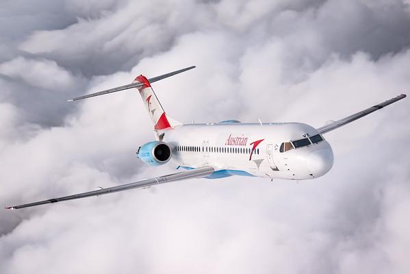 Austrian Airlines F100 - last flight