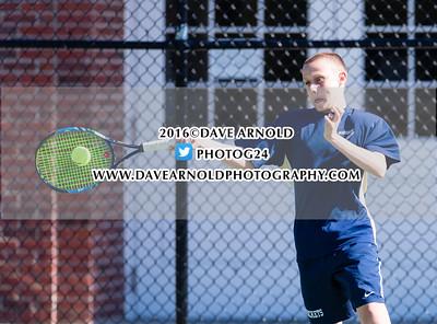 5/9/2016 - Boys Varsity Tennis - Walpole vs Needham