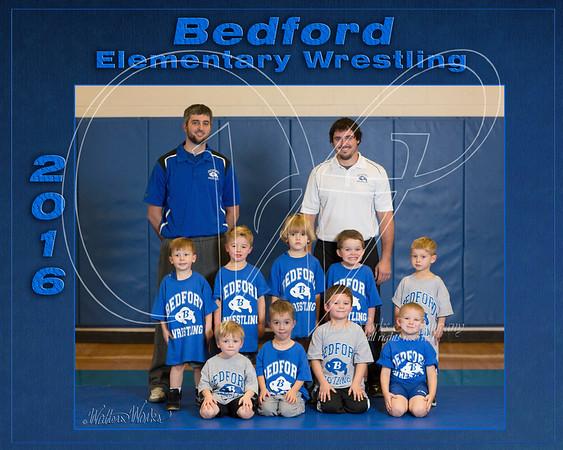 Bedford Elem Wrestling 2016