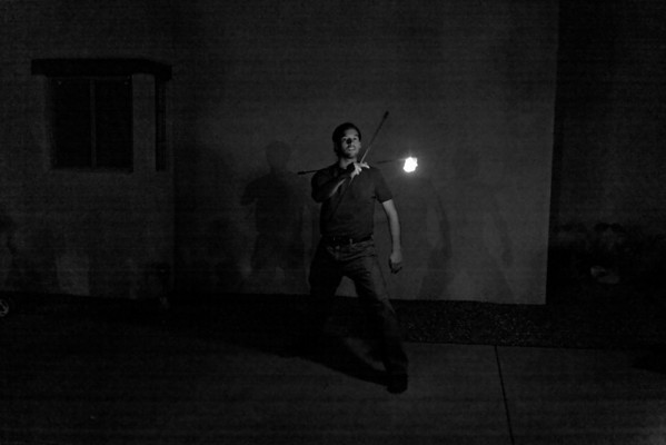 2009 March 28 - Eddie - Fire Performer - Tucson, AZ