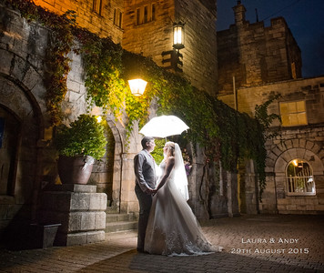 Laura & Andy 29th August - Hazlewood Castle