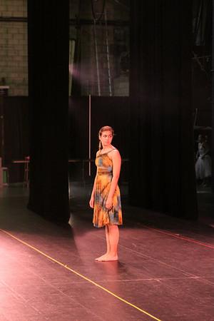 Dancers Pointe Tech Rehearsal Fun 2009
