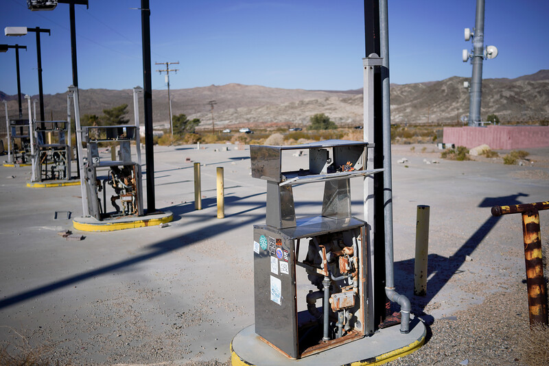 these are what stripped gas pumps look like