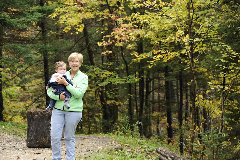 Jack and Grandma Cheryl on September 29, 2012