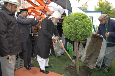 Friday Sermon and Tree Plantation