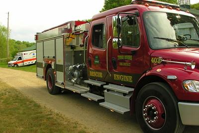 05-29-12 Three Rivers FD House Fire