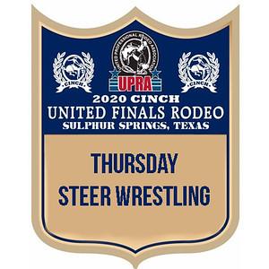 UPRA Finals Thursday Steer Wrestling