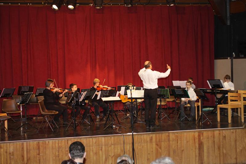Concert des orchestres février 2014