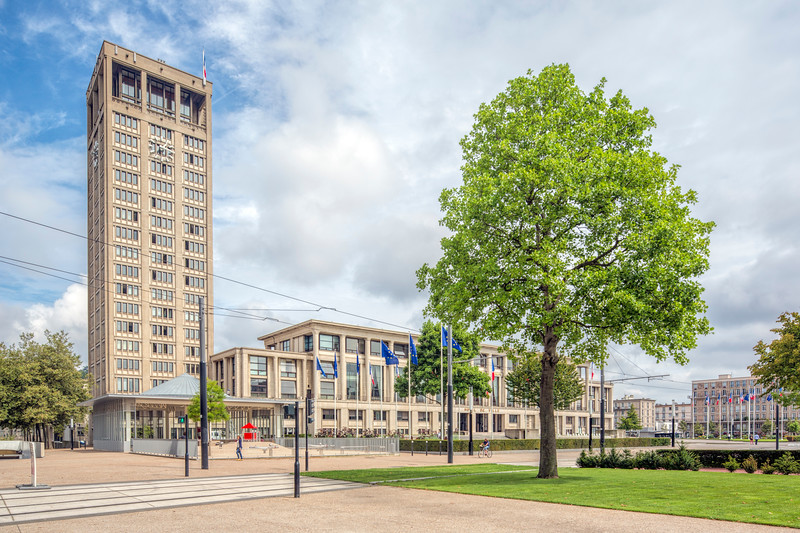 City Hall, Le Havre, France.