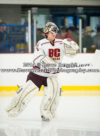 1/18/2014 - Boys Varsity Hockey - Derek Hines Memorial - BC High vs St. Johns Prep