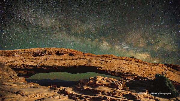 Night in Moab