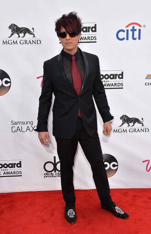 . Magician Criss Angel attends the 2014 Billboard Music Awards at the MGM Grand Garden Arena on May 18, 2014 in Las Vegas, Nevada.  (Photo by Frazer Harrison/Getty Images)