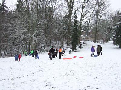 Snowshoeing, XC Skiing