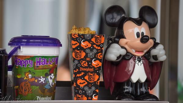 Disneyland Resort, Disney California Adventure, Halloween, Popcorn