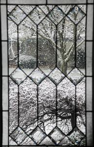 April Snow at Lynx Court, April 9, 2016