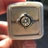 1.02ct Round Brilliant Diamond Bezel Ring 12