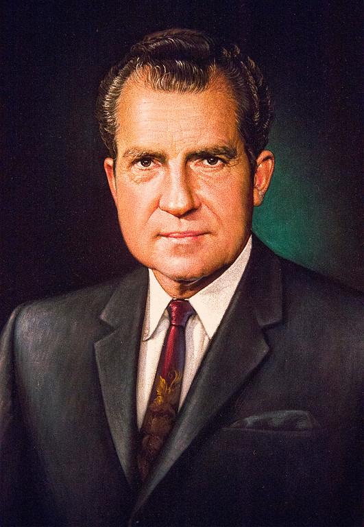 . The Richard Nixon Centennial Exhibit at the Richard Nixon Presidential Library in Yorba Linda.  (Feb. 13, 2013)  Leo Jarzomb/San Gabriel Valley Tribune)
