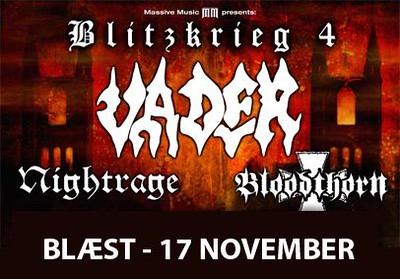 Vader   - Blitzkrieg 4 Tour, Klubben 19/11 2006