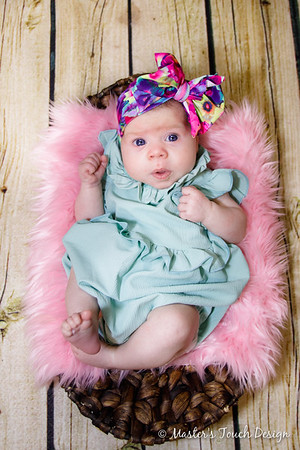 Saylor Jean ~ One Month
