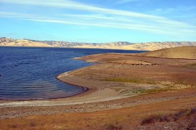 San Luis Reservoir and Leon & Barbara Hall