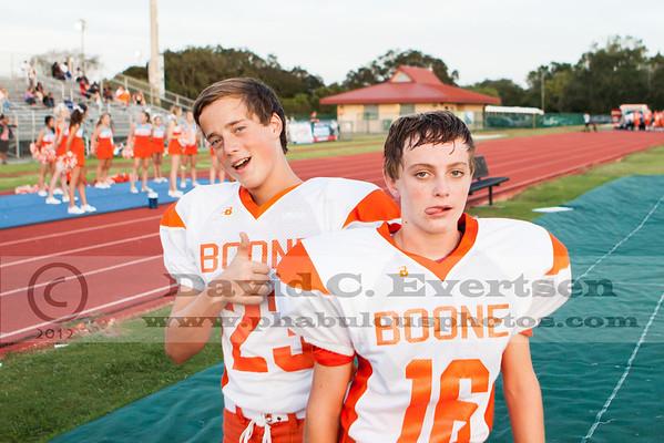 Boone Freshman Football #23 - 2012