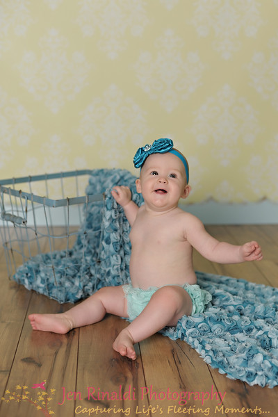 Madeline {7.5 Months} 8/28/12