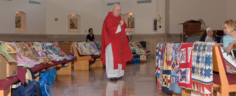 Blessing of the Quilts Summer 2017