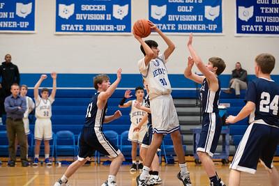 Freshman Boys Basketball vs Granville